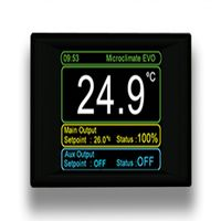Microclimate Evo - Termostato Touch Screen a 2 canali